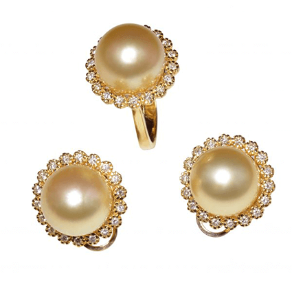 Pearl Set Rings Earring 3